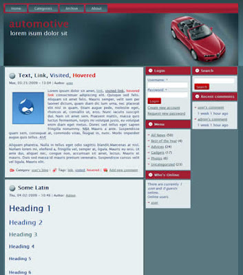 drupal car automotive portal