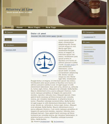 free lawyer office wordpress theme