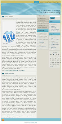 3 column classic wordpress theme