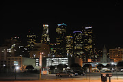 Here's the Los Angeles Skyline from the other side of the street corner.