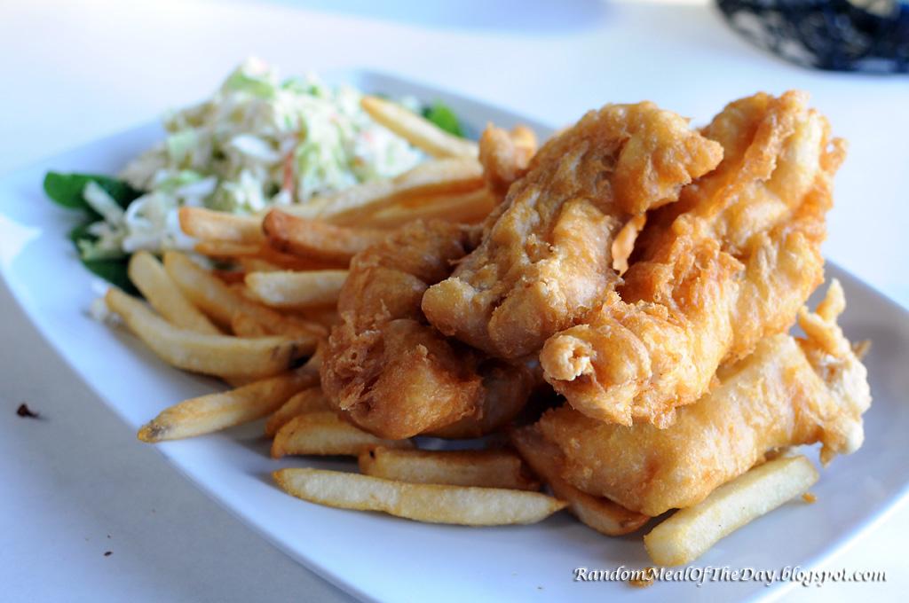 Random Meal Of The Day El Segundo Fish Co Halibut N 39 Chips