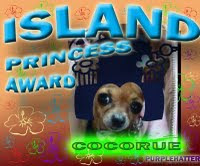 Island Princess Award