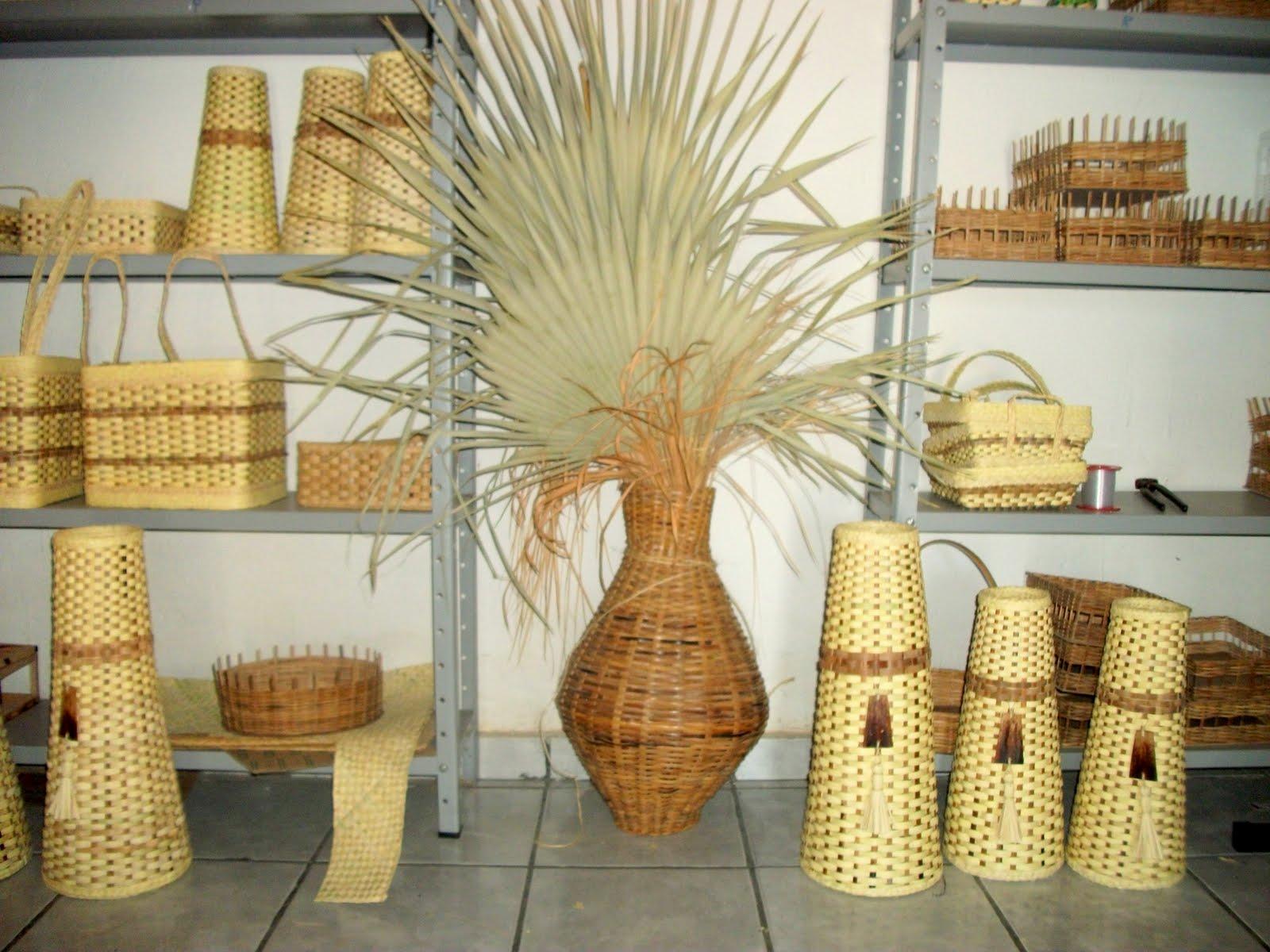 Artesanato De Palha Historia ~ Conheça o artesanato da palha da carnaúba feito no Piauí Arteblog
