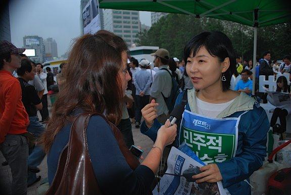 [Seoul_plaza_demonstration_61009]