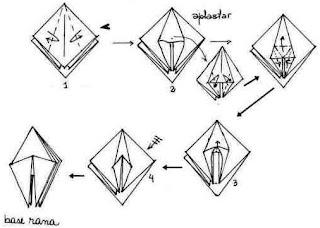 forma básica rara origami