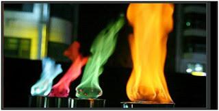 Fuego de colores (experimento)