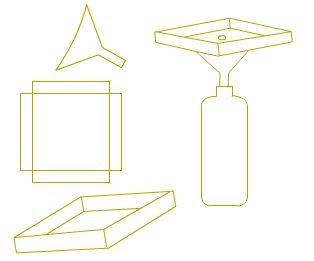 como construir un pluviometro casero