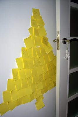 como hacer un arbol de navidad con papel