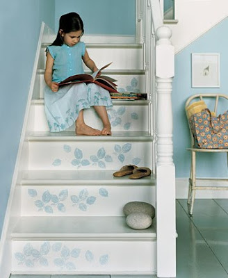 ideas para decorar una escalera