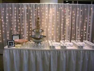 Cuatro ideas para decorar una boda con luz decora decora for Cortina de luces