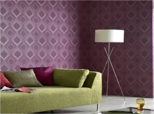 ideas para combinar colores verde con lila