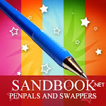 Sandbook.net - Penpals and Swappers Site