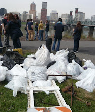 Rubbish collected