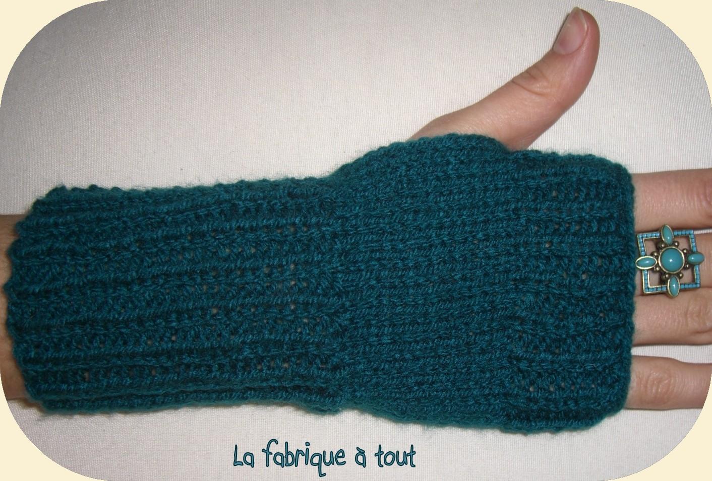 Modele tricot mitaine facile - Modele mitaine tricot facile ...