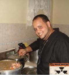 El chef del retiro experto en chercha de tiguere..