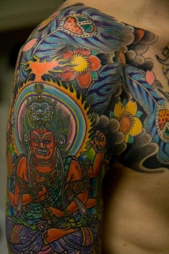 japanese art tattoos. Japanese Dragon Tattoos Art