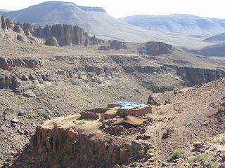 Haima Aït Atta a la zona de Taddout'n Tablah, al Jbel Saghro marroquí