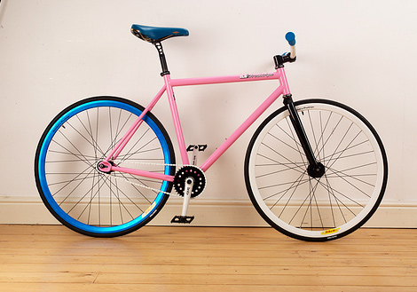 This Is Not The End Fixie Bike