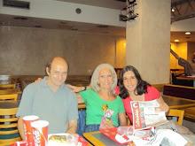 fer y magú con la tía Cristina Lamas en Fame el 14/2/2010