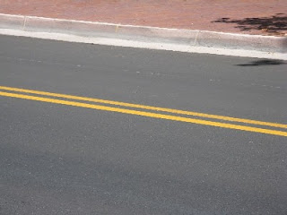 Close-Up of Lovely Repaved Street