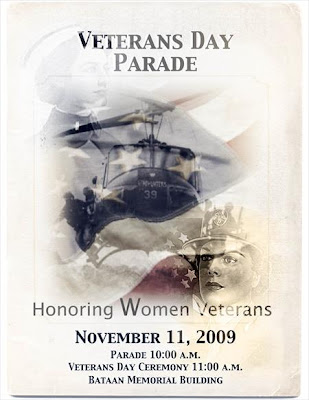 Veterans Day Parade Flyer