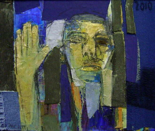 """""""retrato con mano"""""""