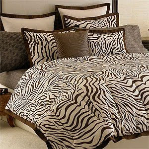 Zebra print bedding Zebra print bedding