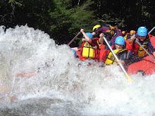 Rafting gelado