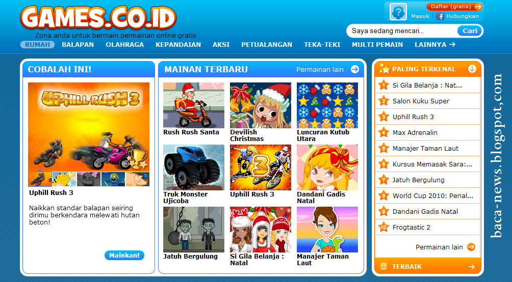 www.games.co.id | www.games.co.id Main Games Online Gratis Indonesia