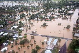 Brisbane in Flood- Foto Banjir Di Brisbane