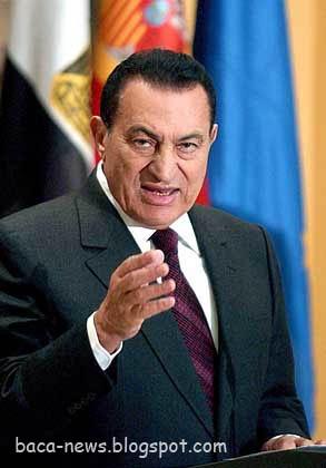 Hosni Mubarak-Presiden Mesir Hosni Mubarak