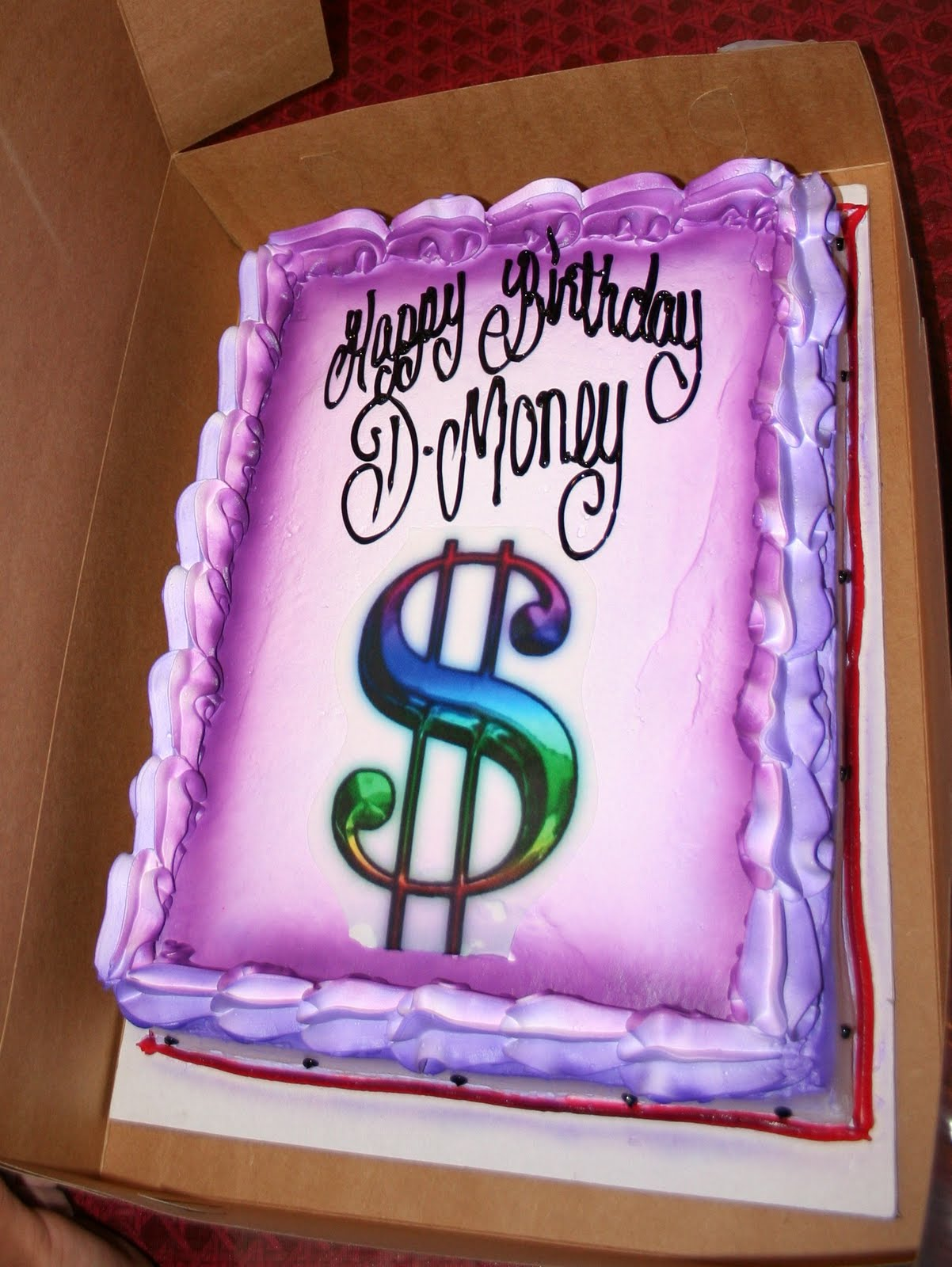 Hector S Custom Cakes Big Money Cake