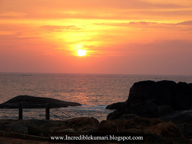 Sun set at Muttom