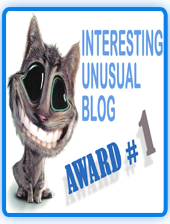 INTERESTING|UNUSUAL|WEIRD|STRANGE|FUNNY|ODD BLOG AWARD