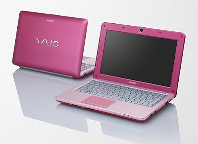 SONY Vaio VPC-W115XG Pink Color