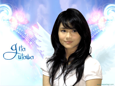 Wallpaper Gita Gutawa