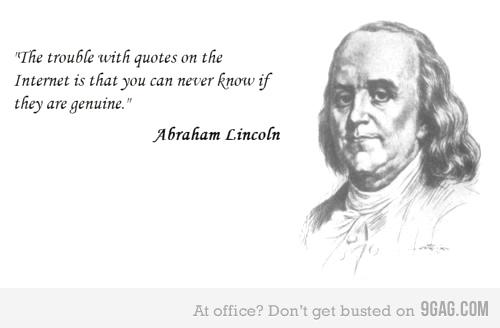 O problema das citações na internet