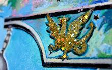 dragon dans son lampadaire
