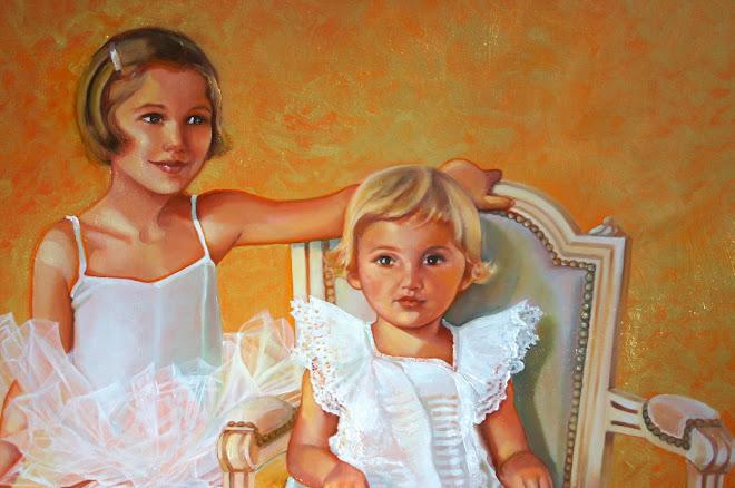 Portraits réalisés en 2008 d'après une photo prise en 1985