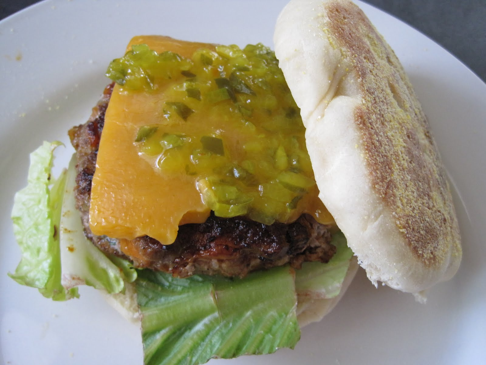 Some Kind of Delicious: Hot Wing Turkey Burger