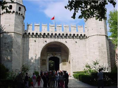 Puerta del Saludo, palacio de Topkapi