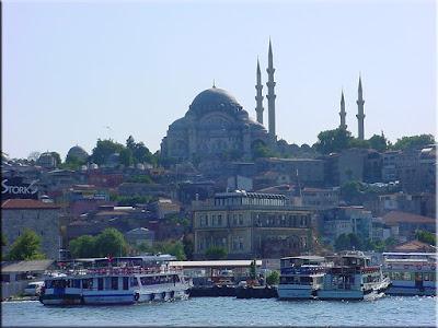 Mezquita Süleymaniye desde el Cuerno de Oro