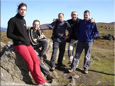 Albiturri mendiaren gailurra 943 m. - 2010eko apirilaren 5ean