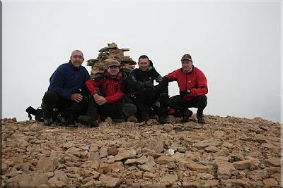 Pico Marboré mendiaren gailurra  -  2008ko uztailaren 26an