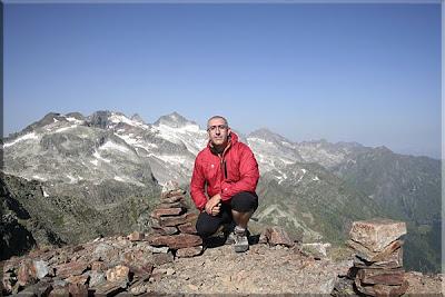 Pico Sacroux mendiaren gailurra  -  2008ko abuztuaren 5ean
