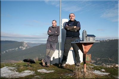 San Vítores mendiaren gailurra - 2008ko urtarrilaren 17an