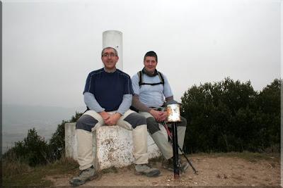Montemayor mendiaren gailurra 734 m.  -  2009ko martxoaren 1ean