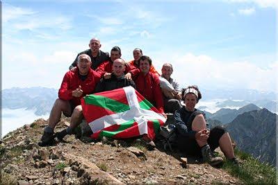 Pic de Sesques mendiaren gailurra 2.606 m. - 2010eko uztailaren 17an