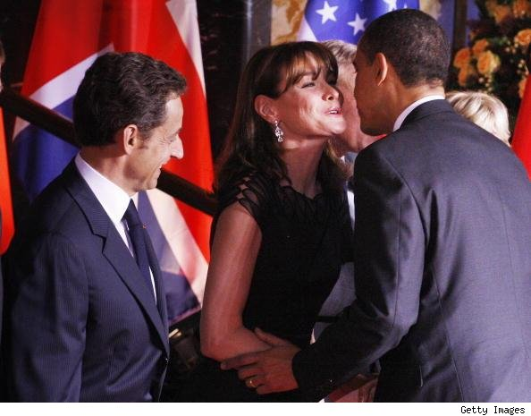 Carla Bruni Obama pic
