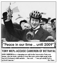 Cameron's European Betrayal.
